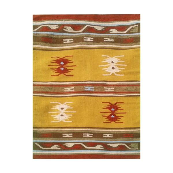 Vlnený koberec Kilim No. 127, 120x180 cm