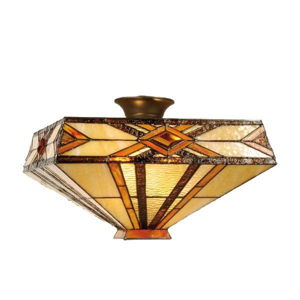 Tiffany stropné svetlo Gold