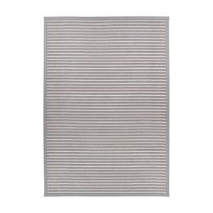Svetlosivý obojstranný koberec Narma Nehatu Silver, 200 x 300 cm