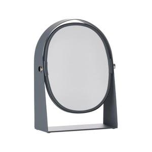 Sivé stolové kozmetické zrkadlo Zone Parro