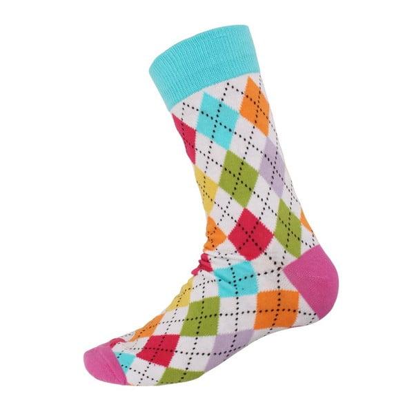 Ponožky Retro Blue, veľkosť 40-44