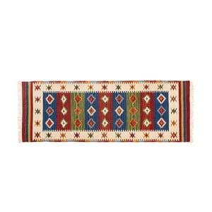 Ručne tkaný koberec Kilim Dalush 308, 180x65 cm
