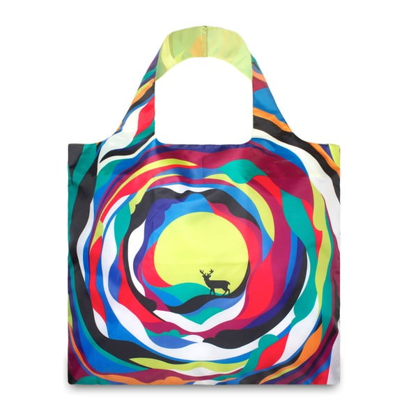 Skladacia nákupná taška Psychedelic