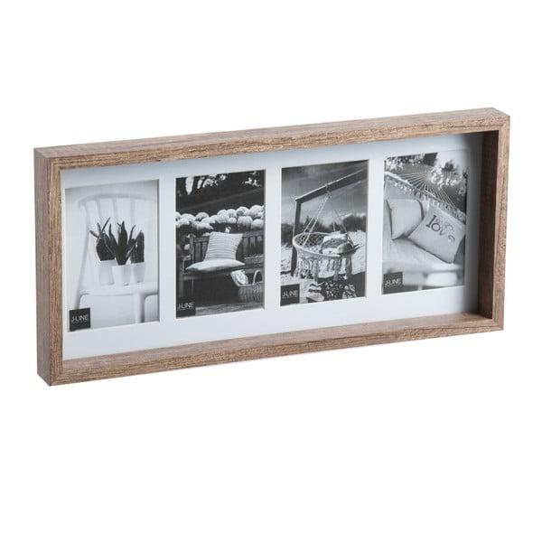 Fotorám na 4 fotky Frame, 22x47x4 cm