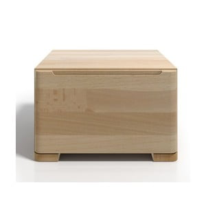 Nočný stolík z bukového dreva so zásuvkou SKANDICA Sparta