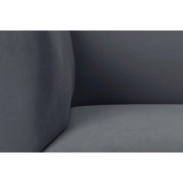 Tmavosivá dvojmiestna pohovka Windsor & Co Sofas Neptune