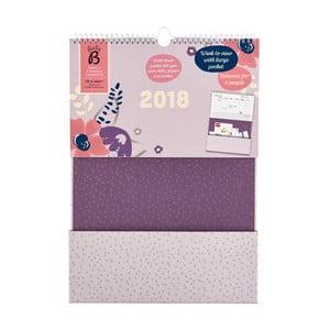 Vreckový kalendár Busy B Pocket 2018