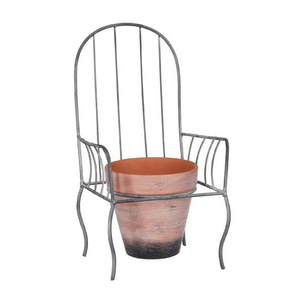 Dekoratívny kvetináč Chair L