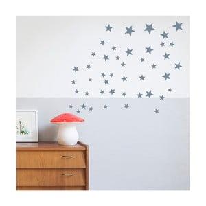 Svetlomodré nástenné samolepky Art For Kids Stars