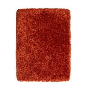 Červený ručne tuftovaný koberec Think Rugs Montana Puro Terra, 120×170 cm