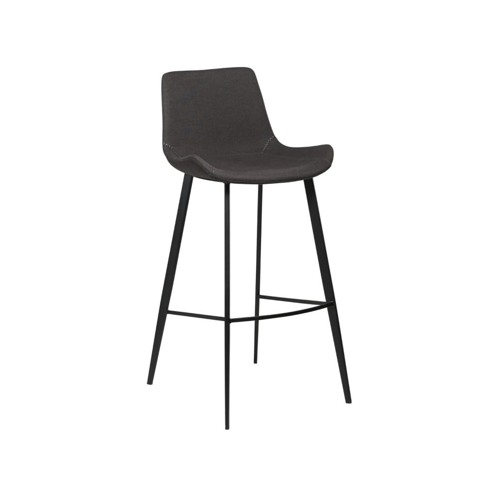 Antracitovosivá barová stolička DAN-FORM Denmark Hype