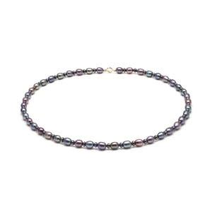 Fialový perlový náhrdelník GemSeller Mans