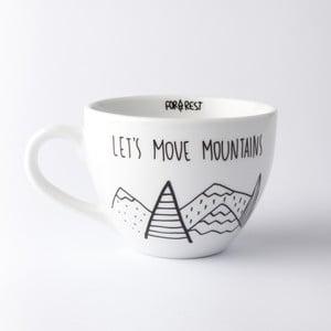 Veľký hrnček Let´s Move Mountains, 500 ml