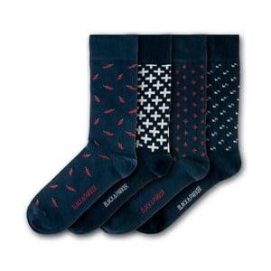 Sada 4 ponožiek Black&Parker London Levens Hall, veľkosť 37 – 43