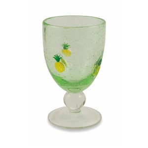 Sada 6 zelených pohárov na víno Villa d'Este Hawaii, 430 ml