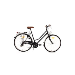 "Bicykel Fellow Bike Black, 28"", výška rámu 53 cm"