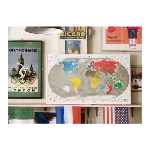Mapa sveta The Future Mapping Company Commemorative World Map, 101 x 60 cm