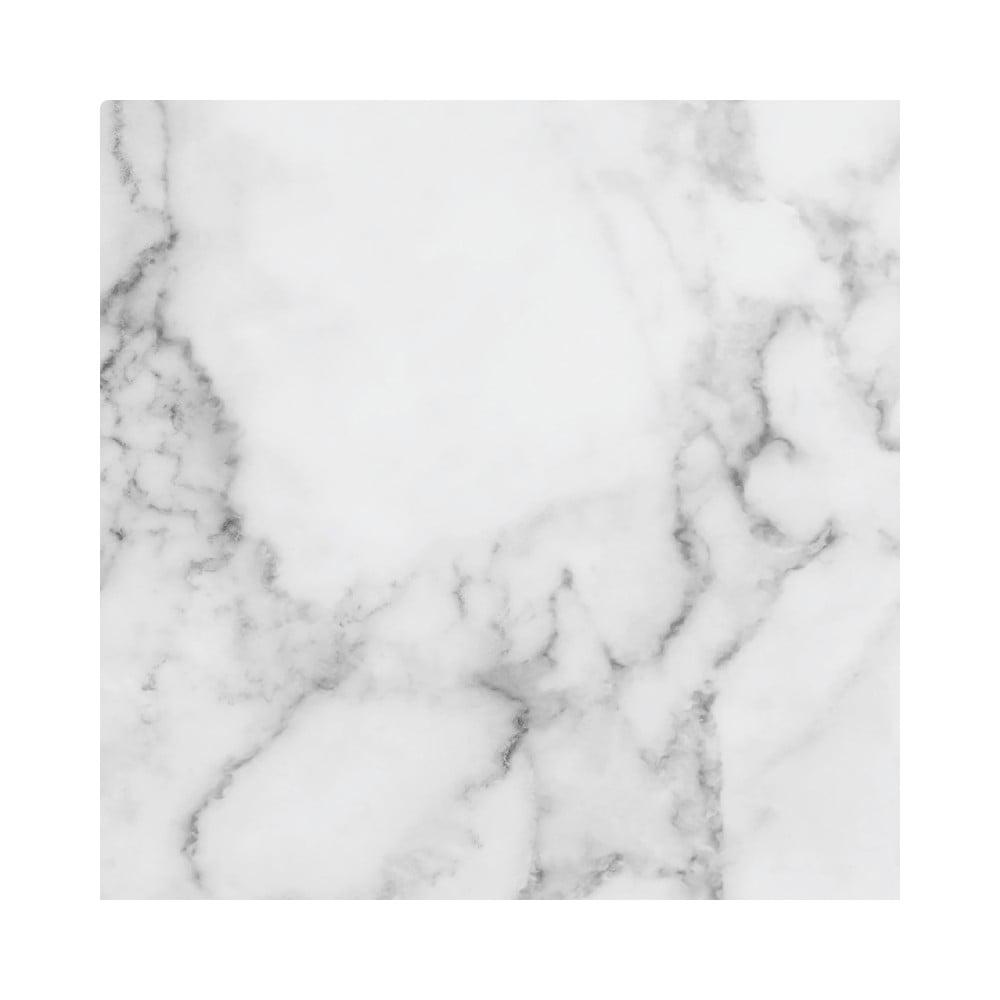 Samolepka na podlahu Ambiance Slab Stickers White Marble, 30 × 30 cm