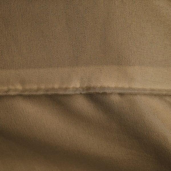 Hnedé obliečky z mikroperkálu na jednolôžko Zensation Monte Carlo, 140×200 cm