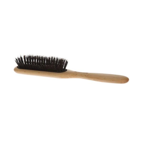 Hrebeň na vlasy z diviačích štetín Iris Hantverk
