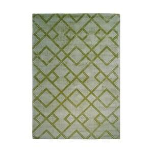 Zelený koberec Kayoom Glossy, 120 x 170 cm