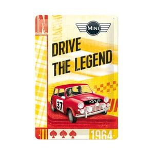 Plechová ceduľa Drive the Legend, 20x30 cm