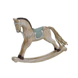 Dekoratívny vianočný drevený húpací kôň Ego Dekor Horse Big
