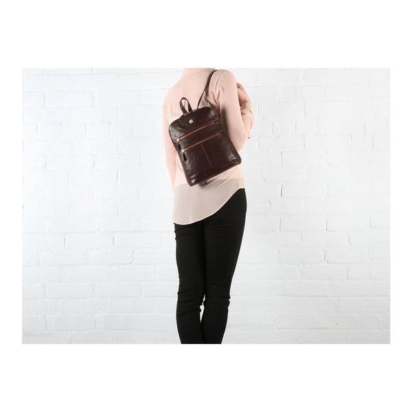 Kožený batoh Florence Brown