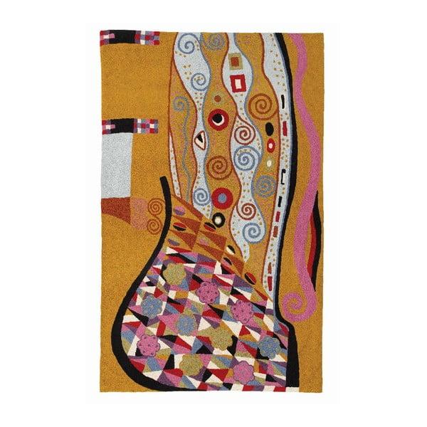 Koberec Klimt Blue/Tan, 180x120 cm