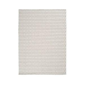 Vlnený koberec Elliot White, 170x240 cm