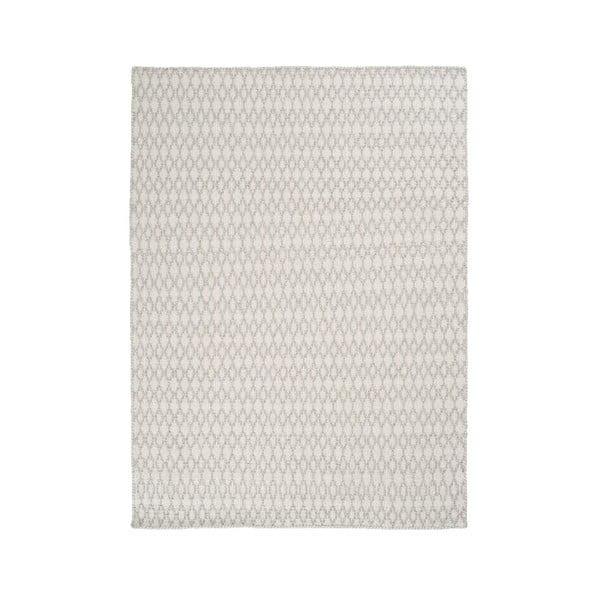 Vlnený koberec Elliot White, 200x300 cm