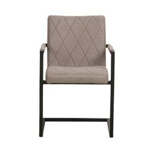 Sivá jedálenská stolička LABEL51 Denmark