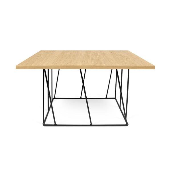 Konferenčný stolík s čiernymi nohami TemaHome Helix,75cm