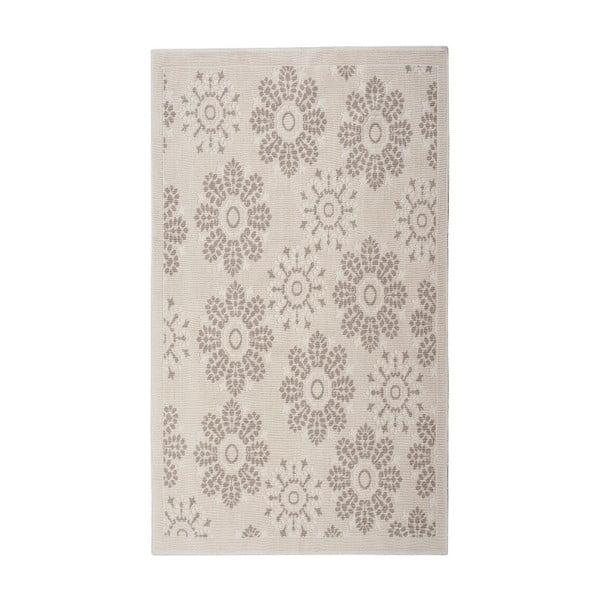Krémový bavlnený koberec Floorist Randa, 160x230cm