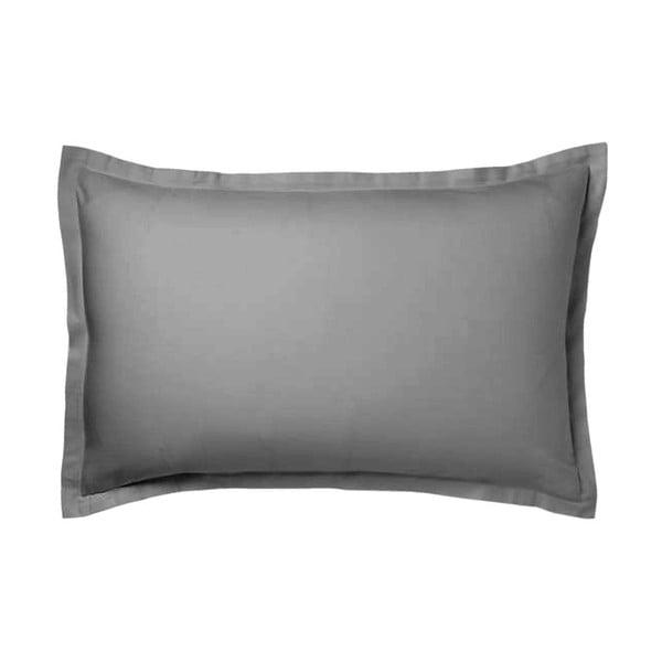 Sivá obliečka na vankúš Atelie Lisos, 70x90cm