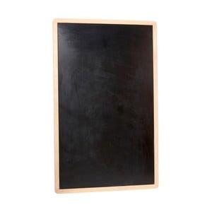 Čierna nástenná tabuľa Hübsch Oak Board
