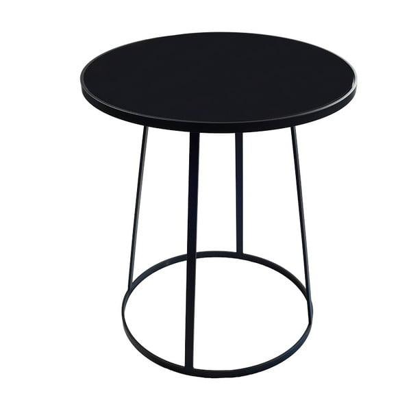 Odkladací stolík Bloom Black