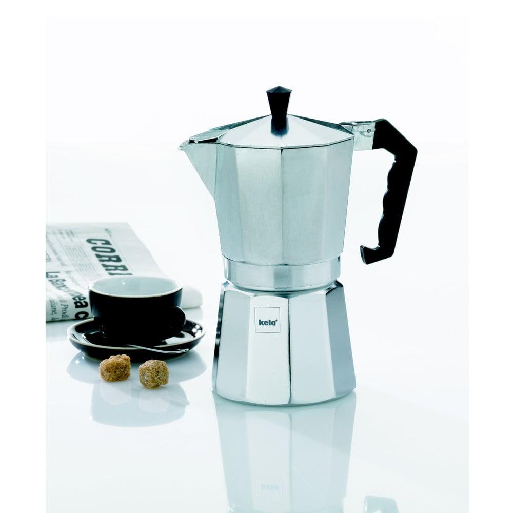 Hliníková moka konvička Kela Espresso Italia, 450 ml