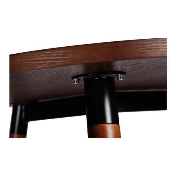 Stôl D2 Copine, 160x80 cm, orech