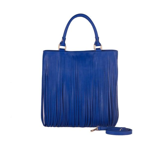 Kožená kabelka Andrea Cardone 2003 Blue Cobalto