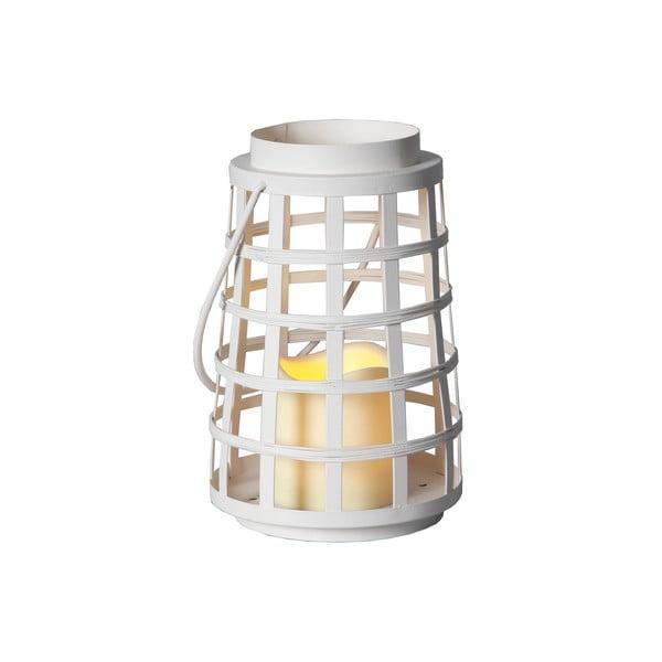 Biely LED lampáš Best Season Petula