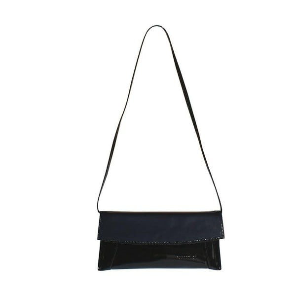 Kožená kabelka/listová kabelka Boscollo Black 2071