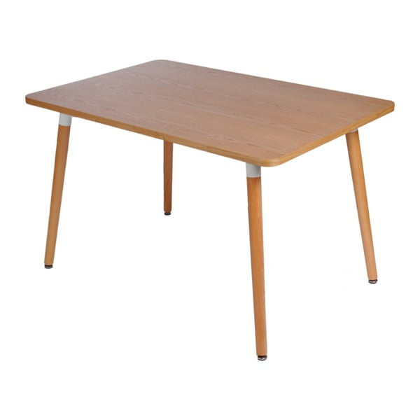 Stôl D2 Copine, 160x80 cm, prírodný