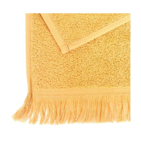 Sada 2 žltých bavlnených uterákov Casa Di Bassi Sun, 50x90cm