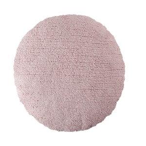 Ružový bavlnený ručne vyrobený vankúš Lorena Canals Big Dot, priemer 50 cm