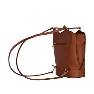 Kožená kabelka/batoh Jamie, koňak