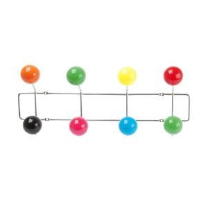 Nástenný vešiak Present Time Cosmic Balls, 48,5 x 19,5 cm