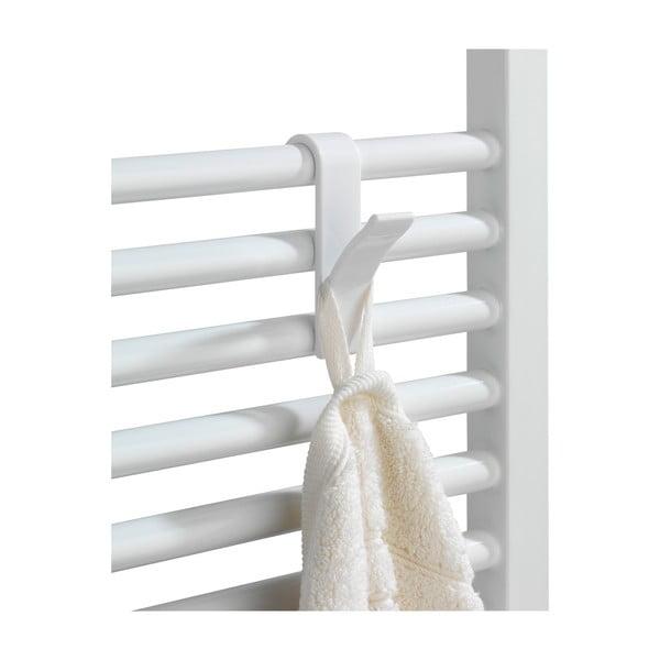 Sada 2 háčikov na uteráky Radiator, biele