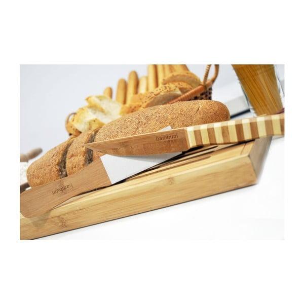 Brúska na bambusovej nože Bambum