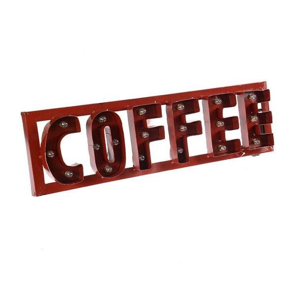 Nástenná dekorácia s LED Red Coffee